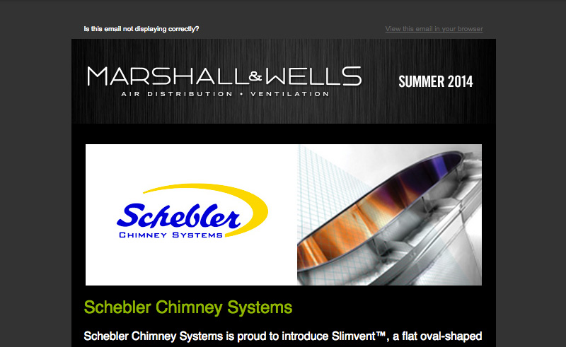 Marshall Wells Newsletter Summer 2014